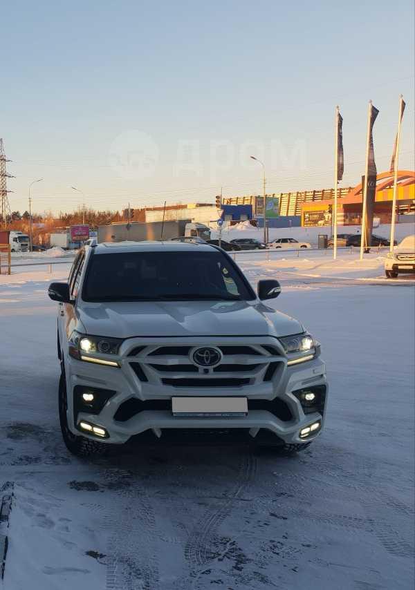 Toyota Land Cruiser, 2017 год, 5 550 000 руб.