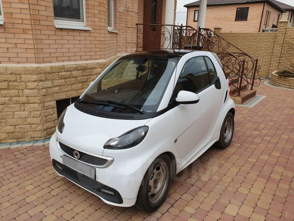Smart Fortwo, 2015 год, 680 000 руб.