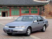 Daewoo Prince рестайлинг 1996, седан, 1 поколение