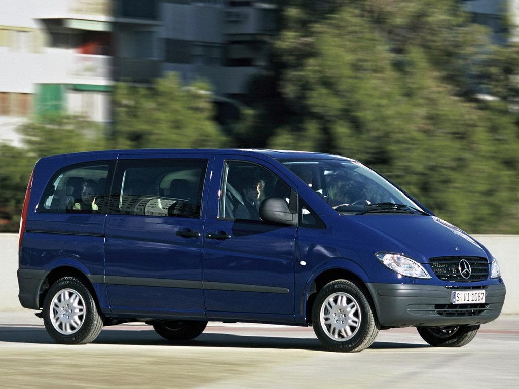 Mercedes-Benz Vito 2003, 2004, 2005, 2006, 2007, минивэн, 2 поколение, W639 технические ...