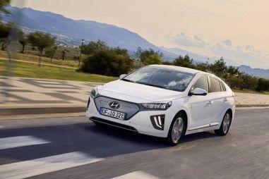 Электрический Hyundai Ioniq оснастили батареей увеличенной емкости
