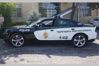 У полиции Армении появился патрульный Dodge Charger (ФОТО)