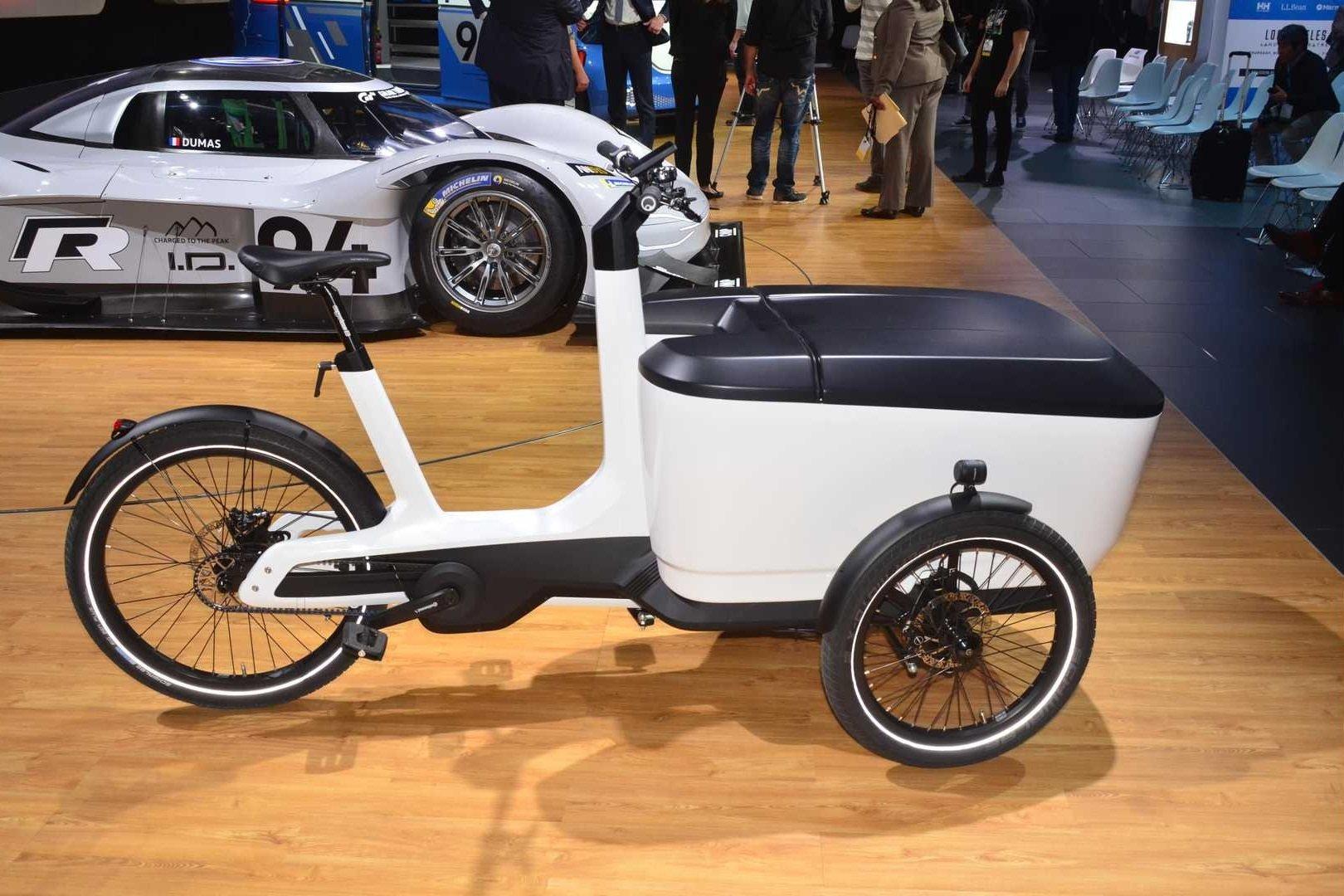 Volkswagen готовит к производству электробайк для служб доставки