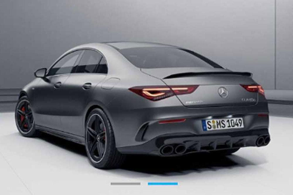 Внешность Mercedes-AMG CLA 45 раскрыта до премьеры из-за утечки фотографии
