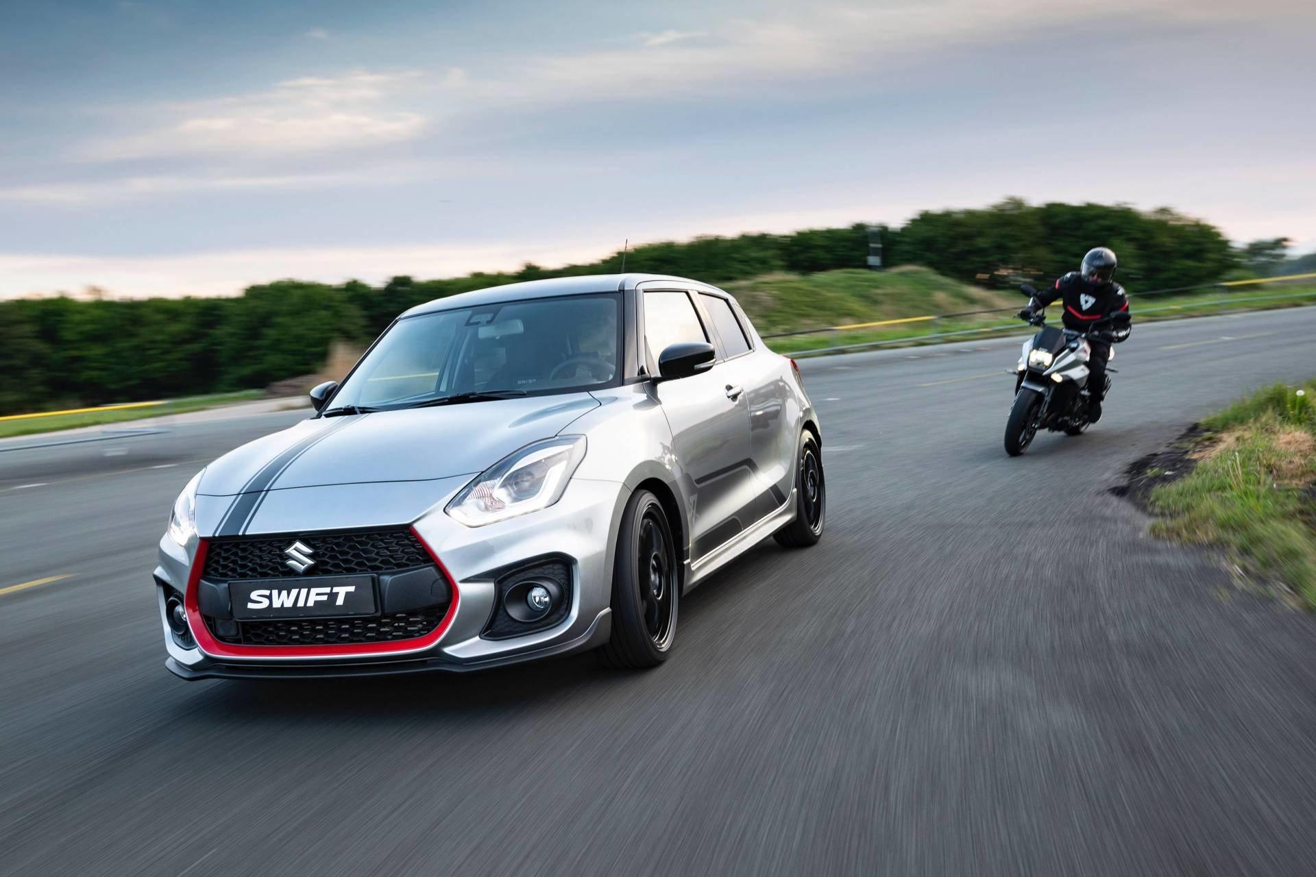 Suzuki выпустит всего 30 экземпляров хэтча Swift Sport Katana