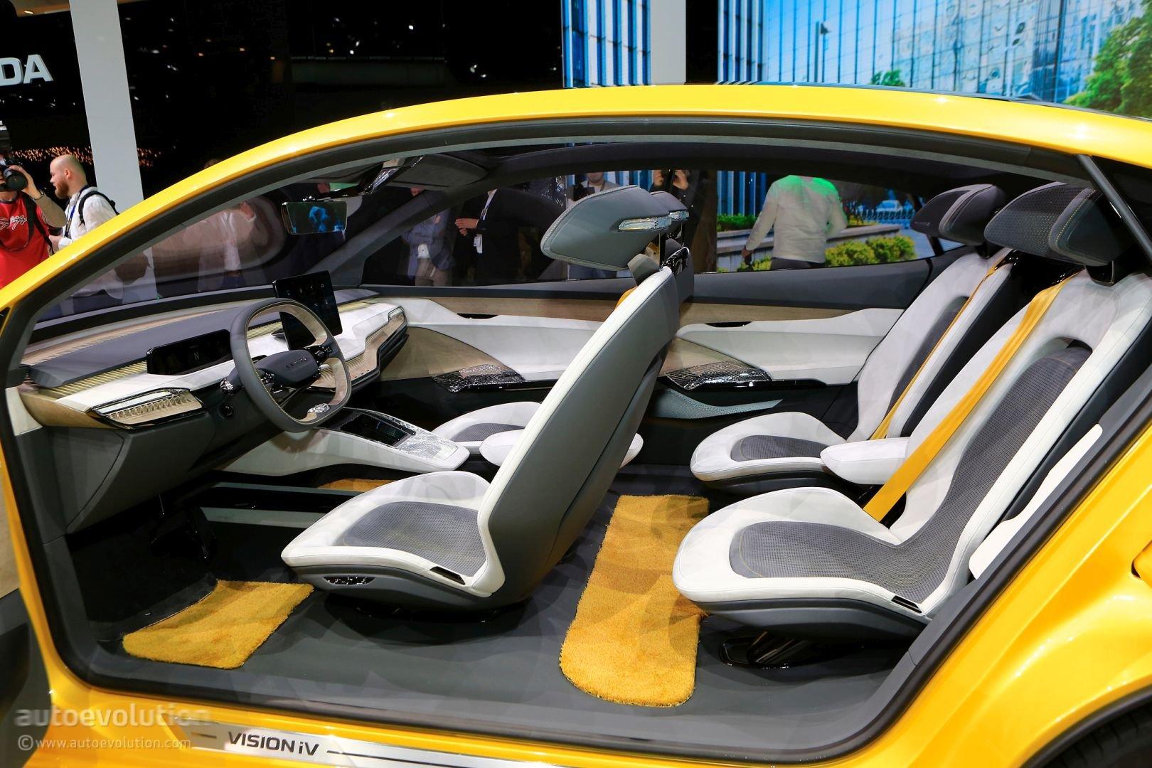 Электромобили Skoda будут визуально отличаться от обычных моделей марки