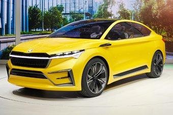 Первые серийные электромобили Skoda выйдут в 2020 году