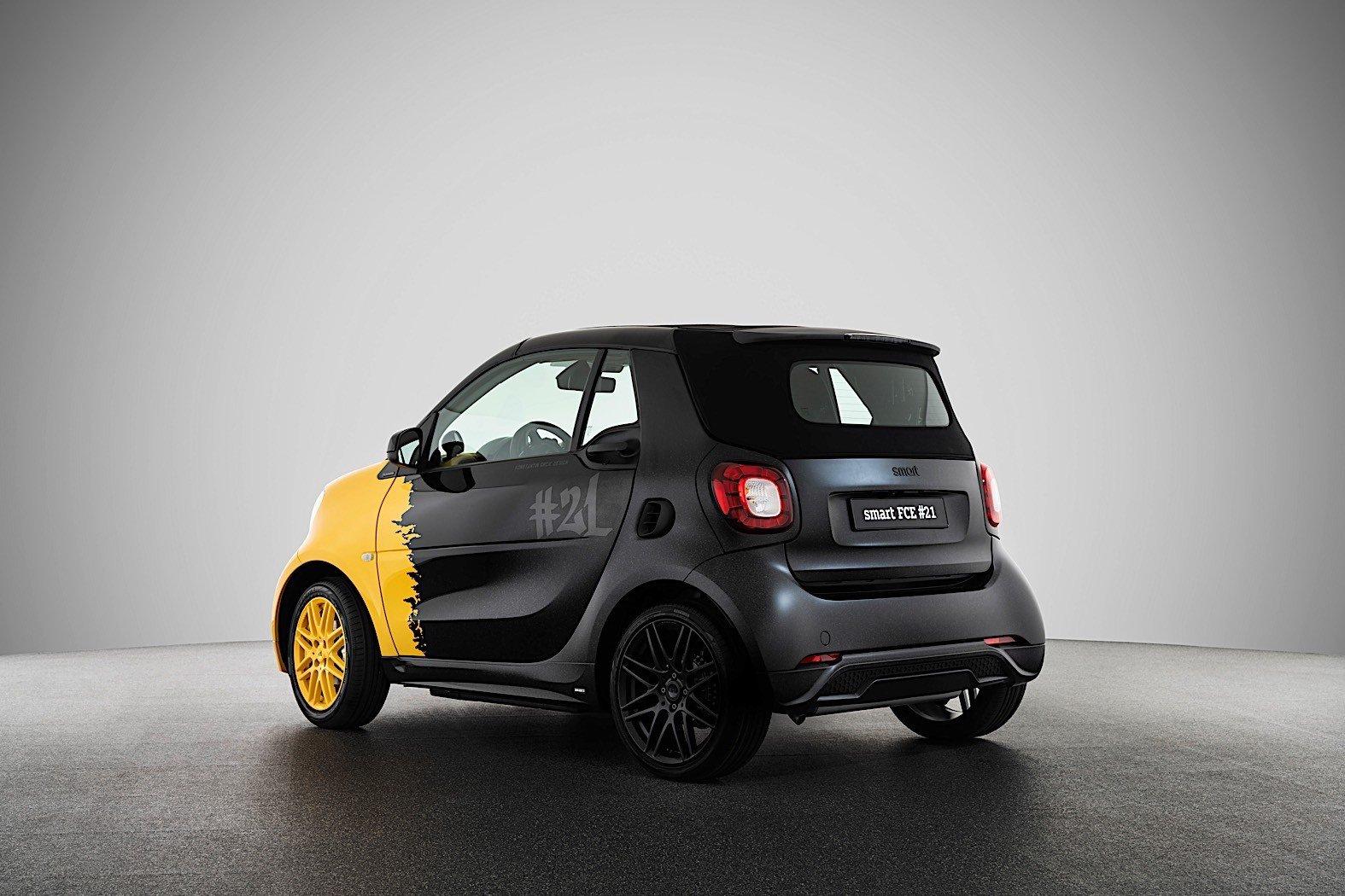 Smart прощается с бензиновыми двигателями лимитированной спецверсией Fortwo #21