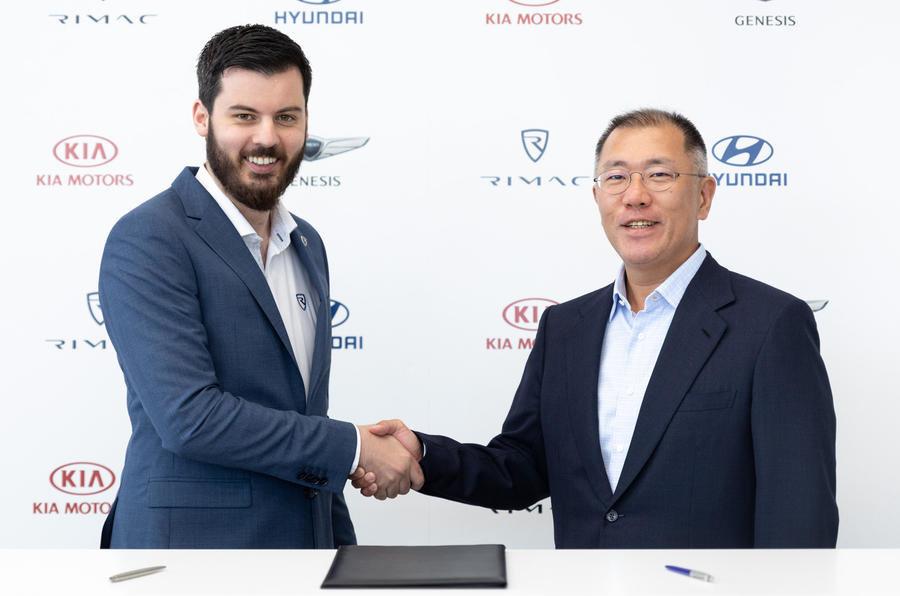 Хорватская Rimac поможет Hyundai в разработке спортивных электромобилей