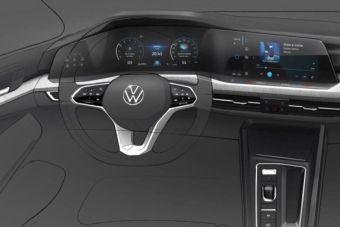 В архитектуре интерьера Volkswagen Golf можно будет найти следы влияния других немецких брендов