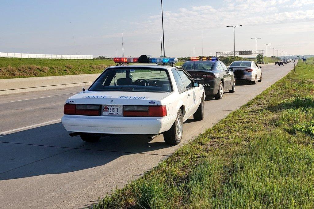 В США полиция до сих пор использует Ford Mustang 1993 года (ФОТО)