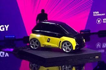 Крошечный электромобиль ориентирован на каршеринг