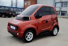Легкий электромобиль получит четыре мотор-колеса