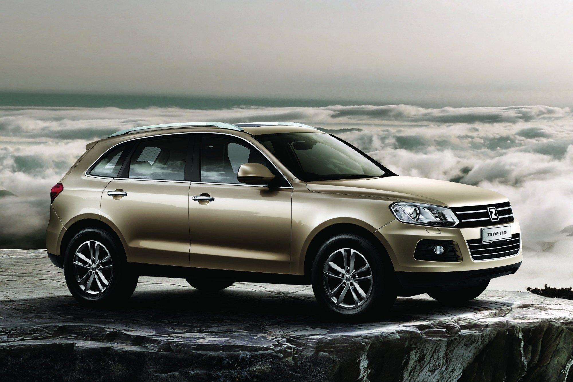 В России начались продажи Zotye T600 с заводским ГБО