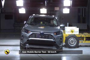 Семь автомобилей завоевали максимальную оценку Euro NCAP