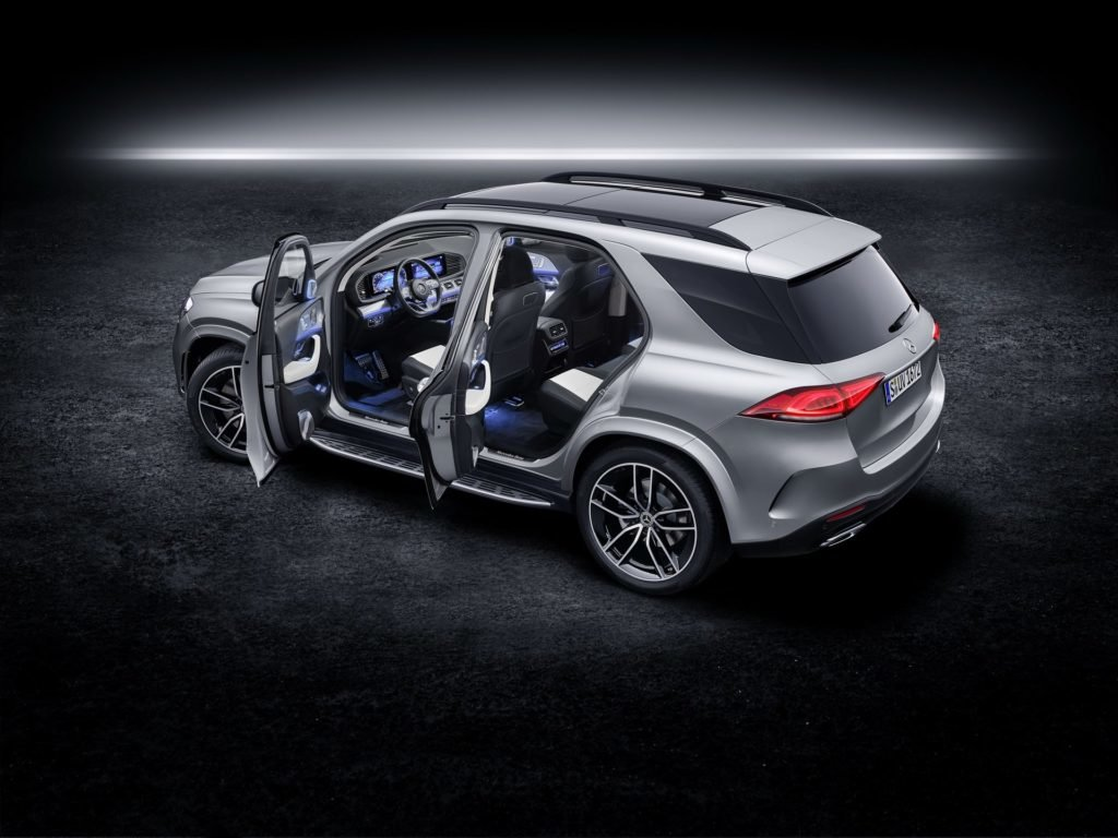 Mercedes-Benz представил самую мощную модификацию кроссовера GLE