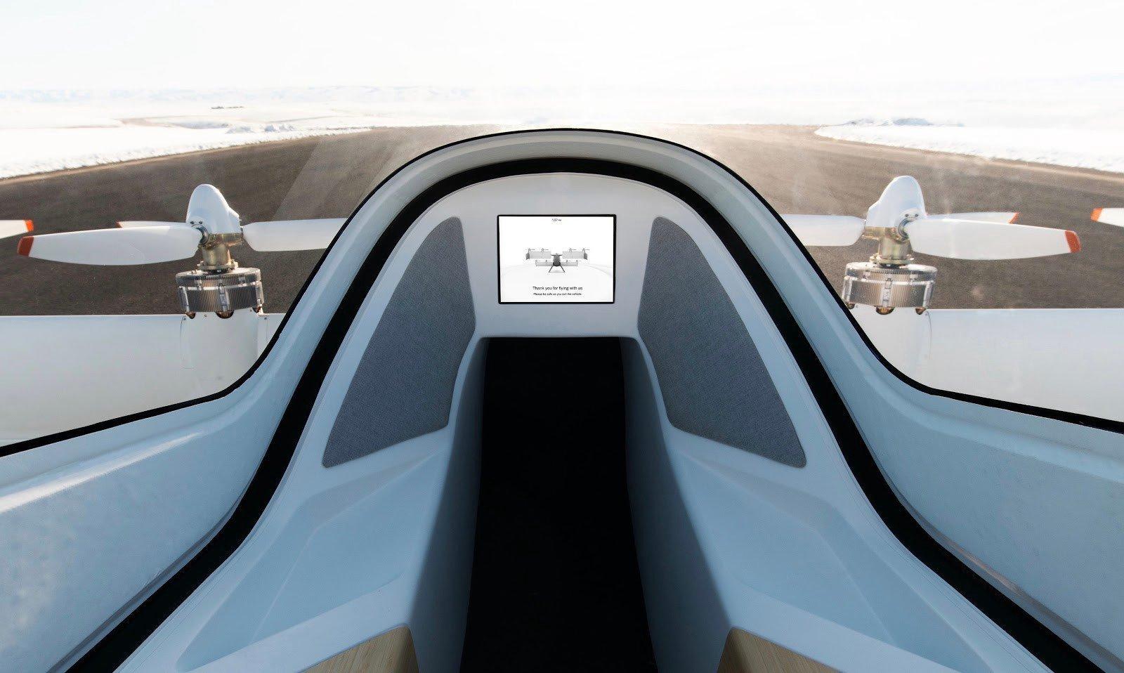 Airbus показал салон перспективного одноместного аэротакси