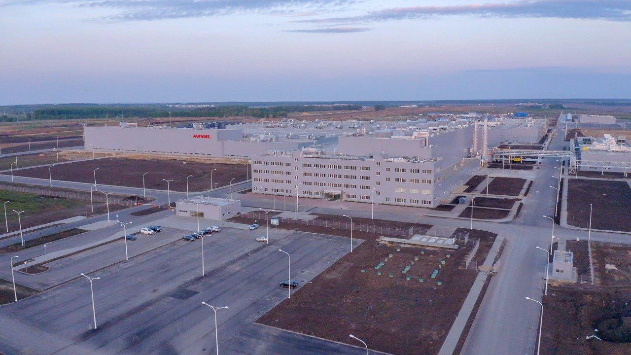 В Тульской области запускается завод Haval
