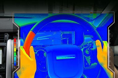 Автомобили Jaguar Land Rover будут взаимодействовать с водителями при помощи нагрева руля