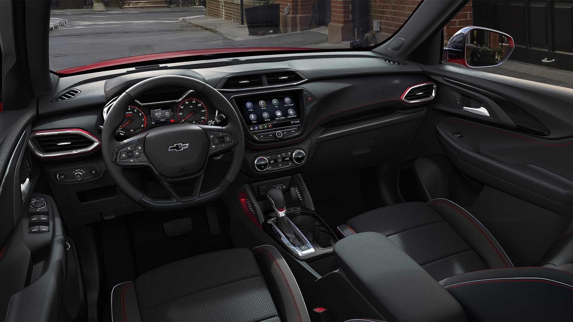 Chevrolet опубликовала фотографии кроссовера Trailblazer для американского рынка