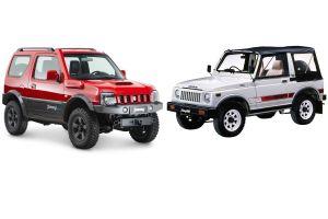 Suzuki Jimny двух поколений (1981–2018 гг.). Маленький, да удаленький?