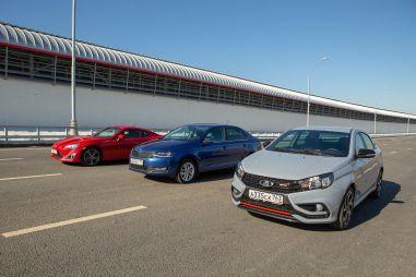 «Спорт» за миллион: Vesta Sport против Toyota GT86 и турбо-Рапида