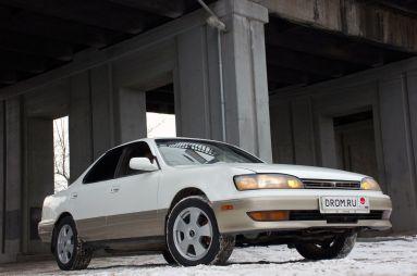 Народное ретро. Toyota Camry Prominent VZV30 1991 года. Символ благополучия