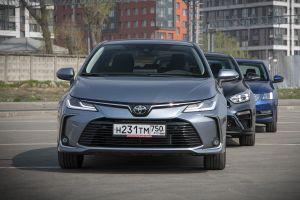 Сравнение Kia Cerato, Skoda Octavia и Toyota Corolla: два бестселлера против Короллы