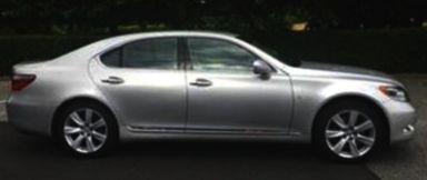 Lexus LS600h, 2010