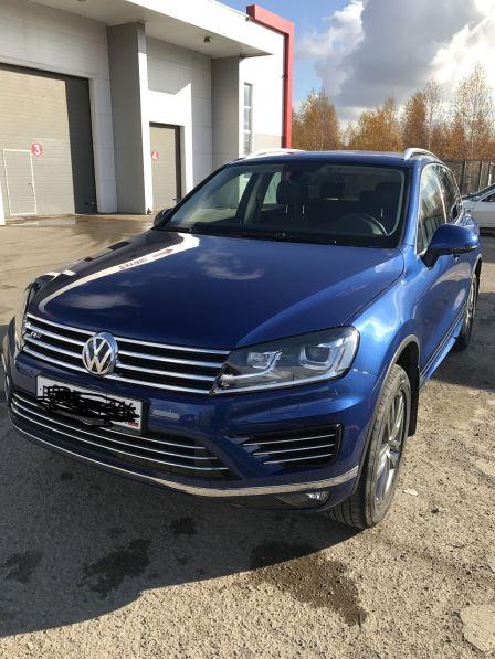 Volkswagen Touareg 2017 - отзыв владельца