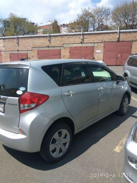 Subaru Trezia 2012 - отзыв владельца