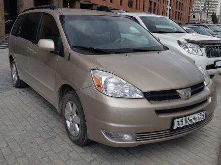 Toyota Sienna 2003 - отзыв владельца