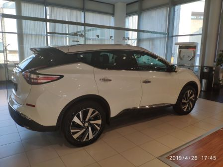 Nissan Murano 2019 - отзыв владельца