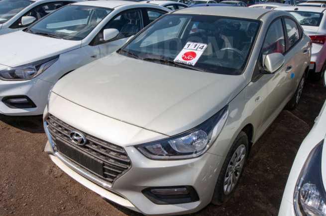 Hyundai Solaris, 2018 год, 928 000 руб.
