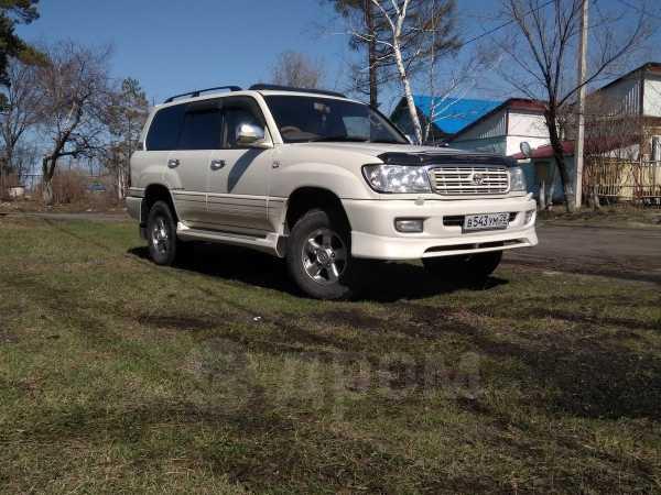 Toyota Land Cruiser, 2000 год, 910 000 руб.