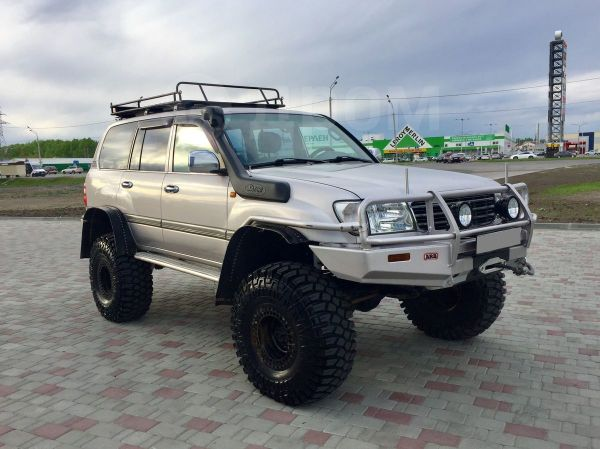 Toyota Land Cruiser, 2001 год, 1 980 000 руб.