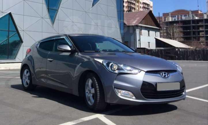 Hyundai Veloster, 2012 год, 660 000 руб.