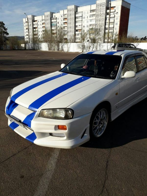 Nissan Skyline, 1999 год, 415 000 руб.