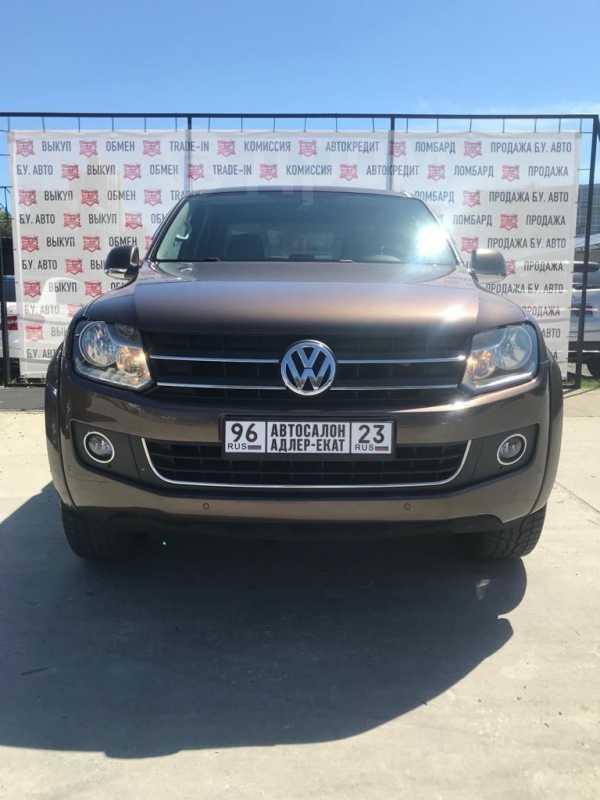 Volkswagen Amarok, 2013 год, 1 125 000 руб.