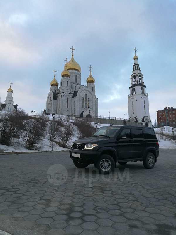 УАЗ Патриот, 2017 год, 600 000 руб.