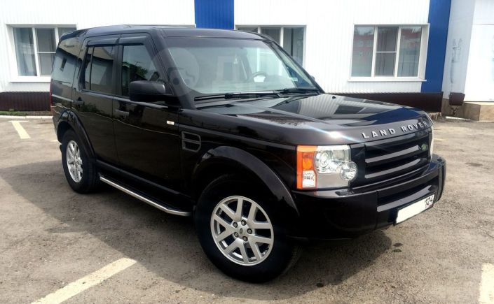 Land Rover Discovery, 2008 год, 870 000 руб.