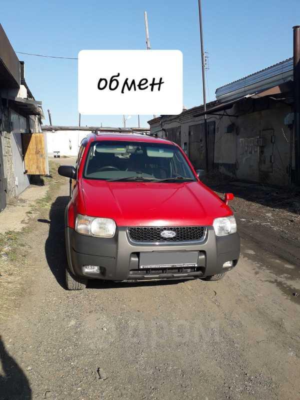 Ford Escape, 2001 год, 365 000 руб.