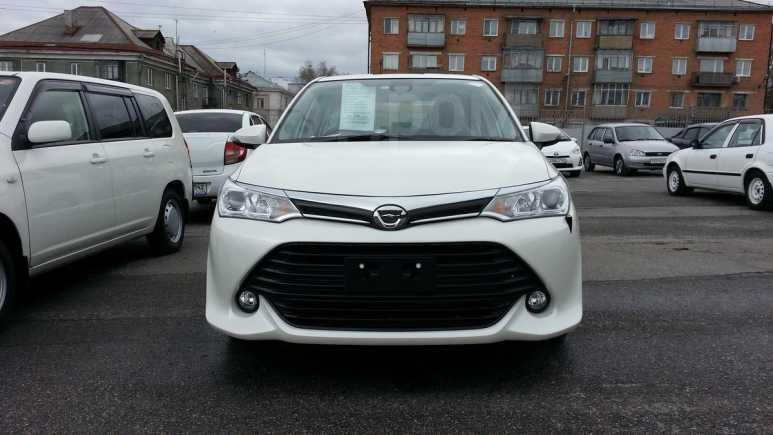 Toyota Corolla Axio, 2015 год, 748 000 руб.