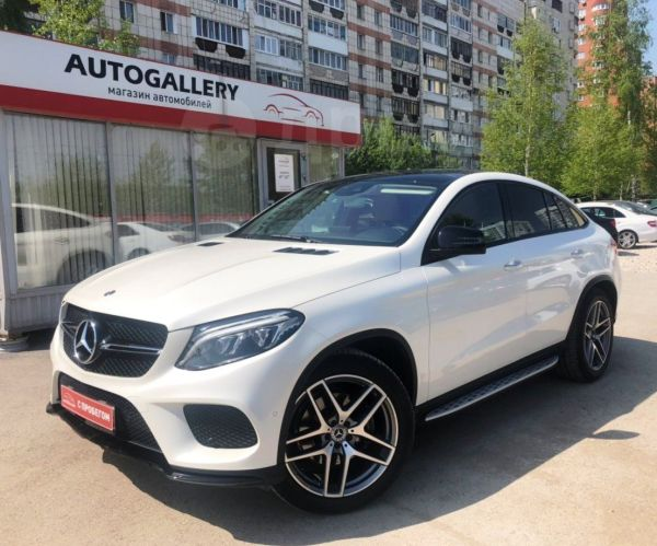 Mercedes-Benz GLE Coupe, 2017 год, 4 745 000 руб.