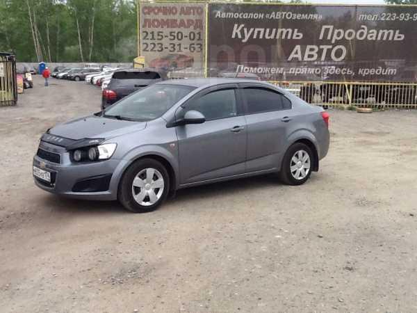 Chevrolet Aveo, 2013 год, 409 000 руб.