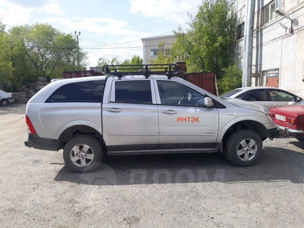 SsangYong Actyon Sports, 2008 год, 480 000 руб.