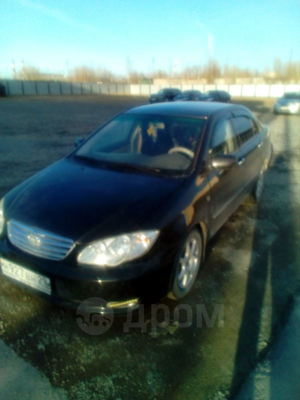 BYD F3, 2008 год, 160 000 руб.