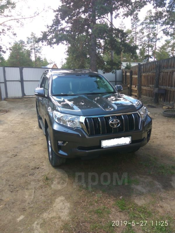 Toyota Land Cruiser Prado, 2019 год, 3 100 000 руб.