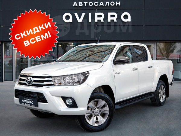 Toyota Hilux Pick Up, 2019 год, 2 770 000 руб.