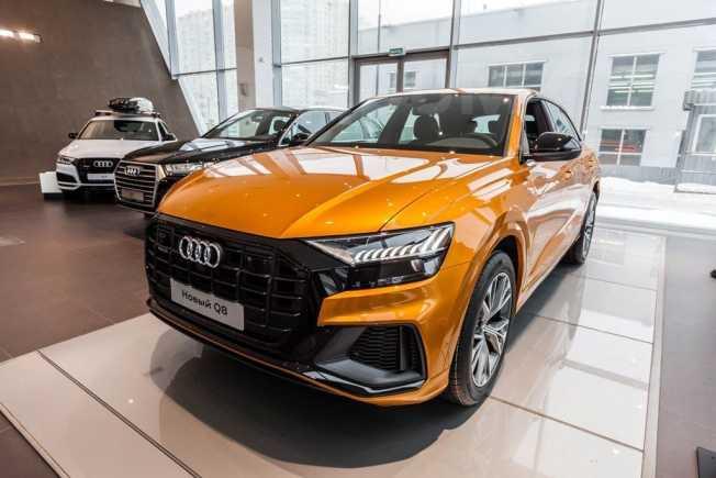 Audi Q8, 2019 год, 5 949 986 руб.
